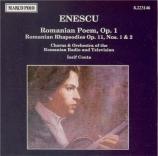 ENESCU - Conta - Poème roumain op.1