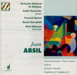 ABSIL - Quinet - Concerto pour piano op.30