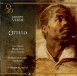 VERDI - Karajan - Otello, opéra en quatre actes live Salzburg, 30 juillet 1971