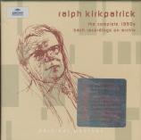 BACH - Kirkpatrick - Six suites anglaises BWV 806-811