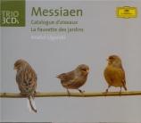 MESSIAEN - Ugorski - Catalogue d'oiseaux