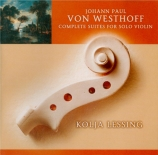 Complete suites for solo violin