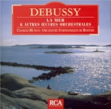 DEBUSSY - Munch - La mer, trois esquisses symphoniques pour orchestre L
