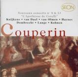 COUPERIN - Kuijken - Les goûts-réunis ou nouveaux concerts : huitième co