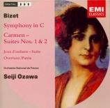BIZET - Ozawa - Symphonie pour orchestre en ut majeur (1855) WD.33
