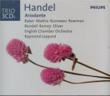 HAENDEL - Leppard - Ariodante, opéra en 3 actes HWV.33