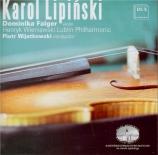 LIPINSKI - Falger - Concerto pour violon n°2 op.21