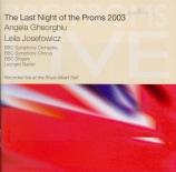 BBC Proms 2003 : The last night of the Prom's 2003