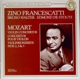 MOZART - Francescatti - Concerto pour violon et orchestre n°3 en sol maj