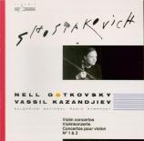 CHOSTAKOVITCH - Kazandjiev - Concerto pour violon n°1 op.77