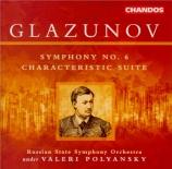 GLAZUNOV - Polyanskii - Symphonie n°6 op.58