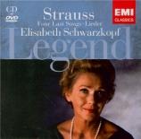 Legend : Elisabeth Schwarzkopf (+ DVD)