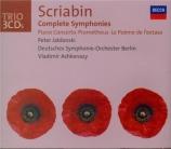 SCRIABINE - Ashkenazy - Symphonie n°1 op.26
