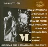 ROSSINI - Serafin - Mosè in Egitto (live Roma 27 - 06 - 1956) live Roma 27 - 06 - 1956