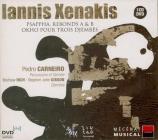 XENAKIS - Carneiro - Okho pour trois djembés