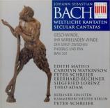 BACH - Schreier - Geschwinde, ihr wirbelnden Winde, cantate pour soliste