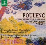 POULENC - Duchable - Concerto pour piano et orchestre FP.146 'Concerto e