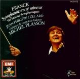 FRANCK - Plasson - Symphonie pour orchestre enrémineur FWV.48