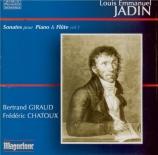 Sonates pour flûte et piano Vol.1