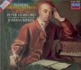 HAENDEL - Hurford - Six concertos pour orgue op.4 HWV.289-294