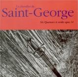 SAINT-GEORGES - Quatuor Atlanti - Six quatuors op.14