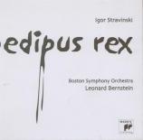 STRAVINSKY - Bernstein - Œdipus Rex, opéra-oratorio en 2 actes d'après S