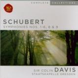 SCHUBERT - Davis - Symphonies : intégrale