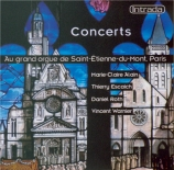 Concerts d'orgue à Saint-Etienne du Mont