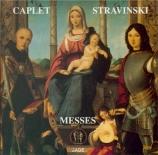 STRAVINSKY - Simic - Messe, pour chœur mixte et deux quintettes à vent
