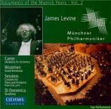 CARTER - Levine - Variations for orchestra