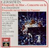 GERSHWIN - Wayenberg - Concerto pour piano en fa majeur