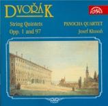DVORAK - Panocha Quartet - Quintette à cordes n°1 en la mineur op.1 B.7