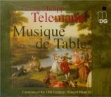 TELEMANN - Hünteler - Ouverture pour trompette et hautbois, cordes et ba