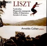 LISZT - Cohen - Funérailles S.173 - 7 : transcription pour orgue