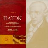 HAYDN - Gianoli - Trio avec clavier n°22 en la majeur op.44 n°1 Hob.XV:9