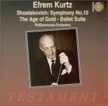 CHOSTAKOVITCH - Kurtz - Symphonie n°10 op.93
