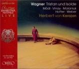 WAGNER - Karajan - Tristan und Isolde (Tristan et Isolde) WWV.90 live Bayreuth, 23 - 07 - 1952