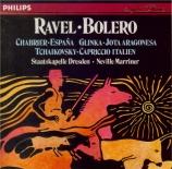 RAVEL - Marriner - Boléro, ballet pour orchestre en do majeur