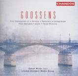 GOOSSENS - London Chamber - Four sketches op.5