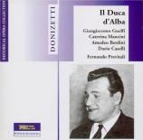 DONIZETTI - Previtali - Il duca d'Alba (Live Roma 1951) Live Roma 1951
