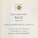 BACH - Ristenpart - Ich habe genug, cantate pour basse et orchestre BWV