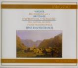 WAGNER - Knappertsbusch - Die Walküre WWV.86b : acte 1 (live recordings) live recordings