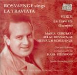 VERDI - Steinkopf - Traviata (La) : extraits
