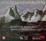 SCHOENBERG - Quatuor Manfred - Quatuor à cordes n°2 op.10