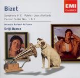 BIZET - Ozawa - Jeux d'enfants op.22