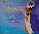 FAURE - Lloyd-Jones - Pénélope, opéra (1913) (live Cardiff 1977) live Cardiff 1977