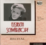 Recital Amsterdam 1957 et 1962