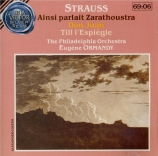 STRAUSS - Ormandy - Also sprach Zarathustra, poème symphonique pour gran