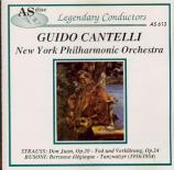 STRAUSS - Cantelli - Don Juan, pour grand orchestre op.20