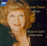 STRAUSS - Lott - Waldseligkeit, pour voix et piano op.49 n°1